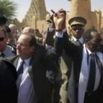 François Hollande au Mali pour une visite éclair
