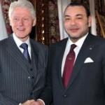 SM le Roi reçoit Bill Clinton