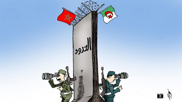 """Résultat de recherche d'images pour """"frontiere algerie maroc 2017"""""""