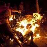 Privé de sa bien-aimée il s'immole par le feu