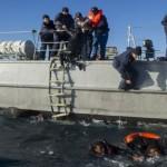 Sauvetage des migrants des eaux du détroit