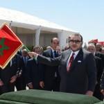 S.M. le Roi préside la cérémonie de signature de la convention relative au programme intégré de développement urbain de la ville d'Oujda (2013-2016)