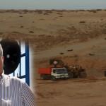 Détention de deux camions de sable appartenant à Mohamed Abarchan qui exploite le sable de Bouyafar illégalement