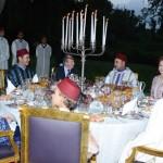 Sa Majesté le Roi offre un Iftar familial en l'honneur du Roi Juan Carlos 1er d'Espagne