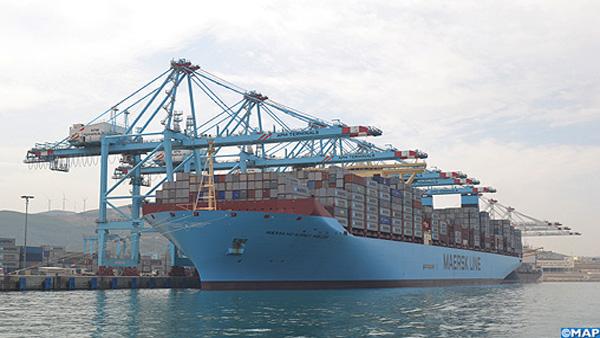 Le plus grand porte conteneurs au monde fait escale au port tanger med - Les plus grand port du monde ...