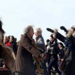 Manifestation organisé à Paris en solidarité pour le «Le baiser de Nador»