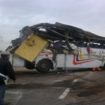 Un mort et 12 blessés graves dans un accident d'autocarsur l'autoroute Casablanca-Marrakech