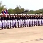 Une chorégraphie très originale réalisée par des soldats thaïlandais
