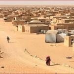 Sirocco dans les camps des séquestrés sahraouis à Tindouf