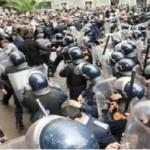 Manifestation d'étudiants à Agadir, 12 policiers blessés