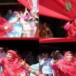 Les drapeaux marocains flottent sur les hauteurs de Tindouf