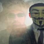 Message d'Anonymous sur les sketchs islamophobes de Charlie Hebdo
