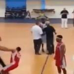Vidéo: Joueur de basket-ball du FUS commet une agression sur l'arbitre