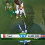 Italie – Costa Rica : 0-1