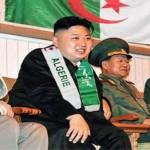 Kim Jong-un principal supporter de l'Algérie
