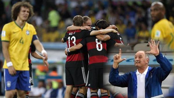 Quelle déroute! L'Allemagne a infligé au Brésil la pire défaite de son histoire 7-1