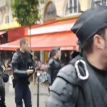 Des manifestants pro-palestiniens agresses par la LDJ à Paris