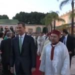 Le Royaume du Maroc en fête accueille fraternellement  et amicalement le Roi Felipe d'Espagne