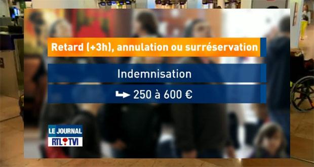Retards, vols annulés: «Vous avez droit à des indemnités allant jusqu'à 600 euros»
