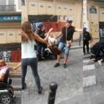 GAZAMANIF – Les CRS frappent violemment un handicapé (Vidéo)