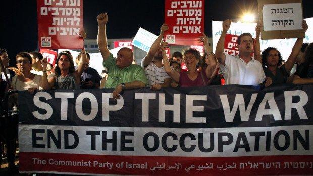Des milliers d'Israéliens manifestent en soutien à Gaza