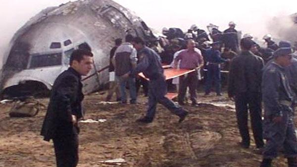 Algérie:  Un avion cargo ukrainien se crashe à l'aéroport de Tamanrasset