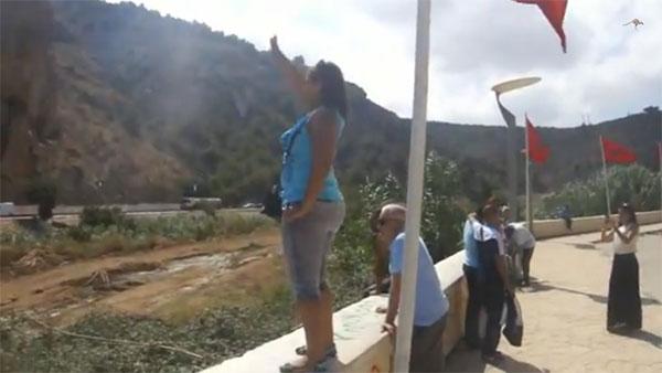 Retrouvailles impossibles d'une famille à la frontière algéro-marocaine