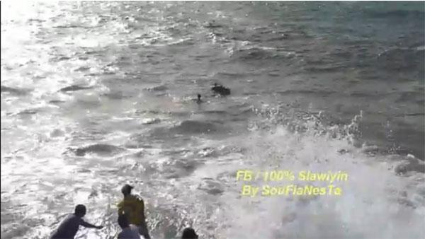 Sauvetage de la noyade à Salé: Avertissement des mauvaises paroles dans la vidéo