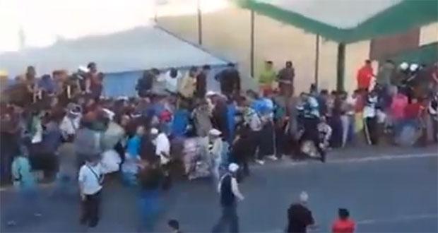 Assauts de la police espagnele à coups de matraque sur des marocains au passage de Ceuta