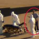 Un homme sans combinaison  escorte la deuxième infirmière américaine infectée par Ebola (vidéo)