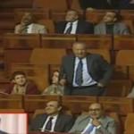 Voir la dernière intervention de Aberkene au Parlement: Pourquoi l'interprété de langage de signe ne traduit pas?
