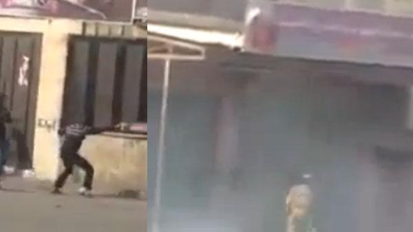 Ce Palestinien qui fait fuir l'armée israélienne ! ( Vidéo )