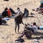 Des migrants débarquent sur une plage de naturistes aux Canaries