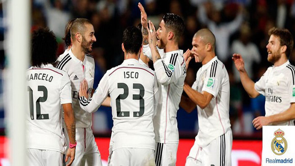Coupe du Monde des clubs Maroc 2014 : Real Madrid Cruz Azul (4-0)