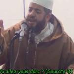 Le calme d'un iman face à un tremblement de terre (vidéo)