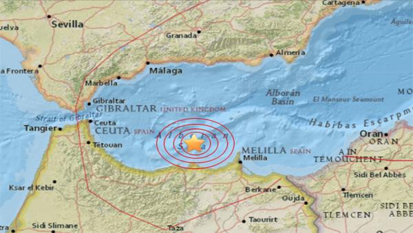 Un séisme de 6,1 entre le Maroc et l'Espagne en mer Méditerranée (Vidéo)