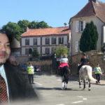 SM Le roi Mohammed VI en séjour privé à Betz