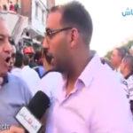 Un jeune homme outre par le sauvetage qui est effectuée a Sbatha (Vidéo)