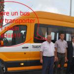 Distribution des autobus de transport scolaires province de Nador