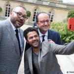 Mohammed VI reçu à l'Elysée par François Hollande