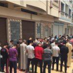 Le Rif fait la priere dans les rue et pas dans les mosqués