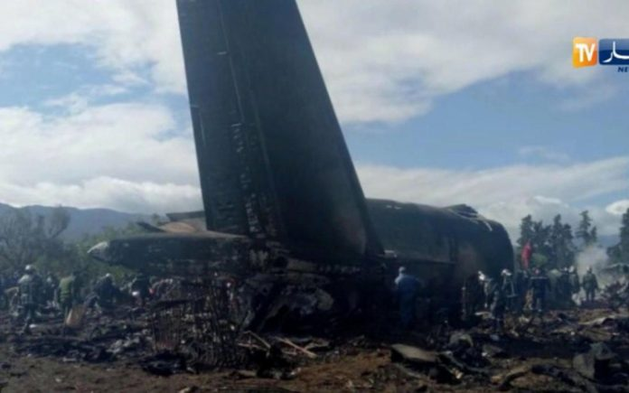 Alg rie 257 morts dans le crash d un avion militaire un for Interieur algerien