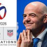 Infantino aurait promis le Mondial 2026 aux Américains