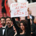 Cannes 2018: L'actrice franco-libanaise Manal Issa dénonce le carnage israélien à Gaza sur le tapis rouge
