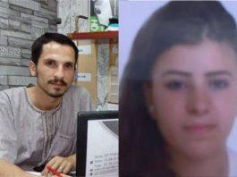 Soufiane Al-Nguad et Hayat Belkacem