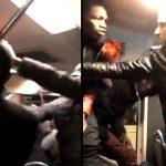 Vidéo d'un passager de bus rouant de coups son agresseur affole Twitter
