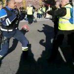 Didier Andrieux, policier filmé frappant des manifestants à Toulon, s'explique
