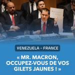 Monsieur Macron: Occupez-vous de vos Gilets Jaunes!