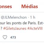 Gilets Jaunes : Un héros est née à Paris pour cet acte VIII