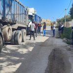 Nador la gendarmerie et l'administration territoriale encourage le pillage et l'exploitation du sable à Iaazzanene la nuit, malgré la quarantaine